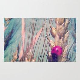 Pink Ladybug Rug