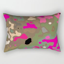 Camo 102 Rectangular Pillow