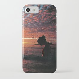 Silhouette Island iPhone Case
