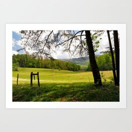 Springtime in Tennessee Art Print
