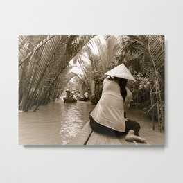 Tributary of the Mekong Delta, 60th Metal Print