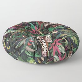 Rainforest corner Floor Pillow