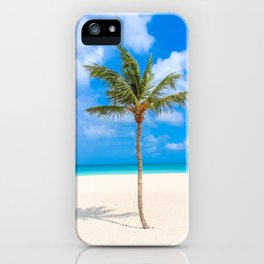 Tropical Island, Palm Tree iPhone Case