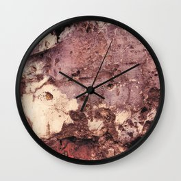 Grunge wall texture 5 Wall Clock