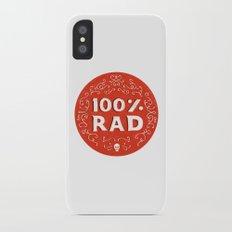 100% Rad Slim Case iPhone X
