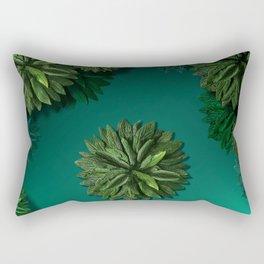 """""""Caribbean Peppermint"""" Rectangular Pillow"""