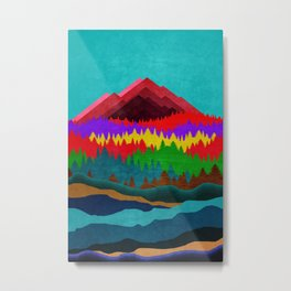 Wander Trip Metal Print
