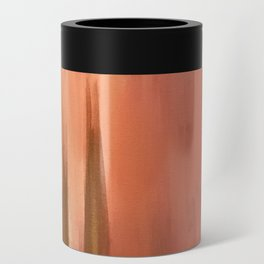 Blush with Gold Abstract Can Cooler