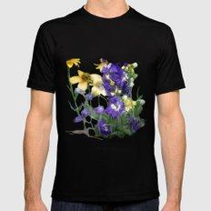 wildflowers / nature, flora, still life,  Mens Fitted Tee MEDIUM Black