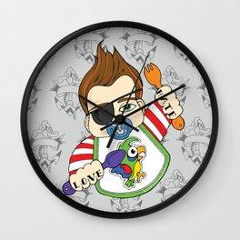 Tattooed Baby 002 Wall Clock