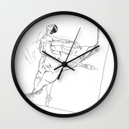 BalletPapper Wall Clock