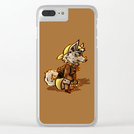 Doggo Punk Clear iPhone Case
