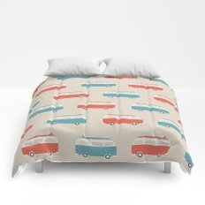 VW Bus & Surfboard Comforters