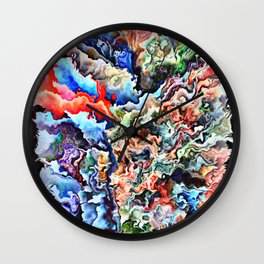 Multiple Dreaming ONE Wall Clock