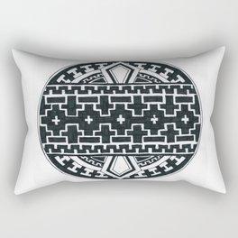 Geometric like mandala thing Rectangular Pillow