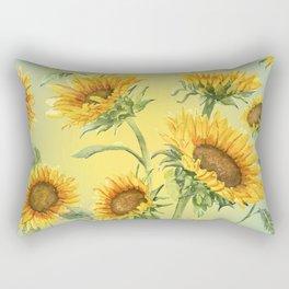 Sunflowers 2 Rectangular Pillow