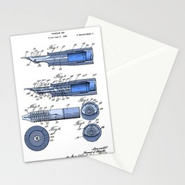 Fountain pen patent Stationery Cards