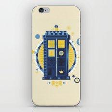 Timey Wimey iPhone & iPod Skin