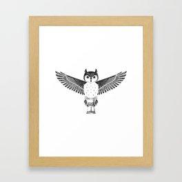 Owls Well That Ends Well Framed Art Print