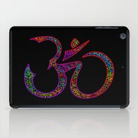 om iPad Cases featuring OM by Tali Rachelle