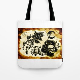 death flash Tote Bag