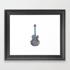 Gitar Framed Art Print