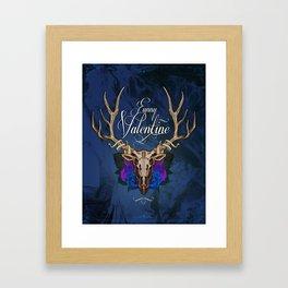 Funny Valentine Framed Art Print