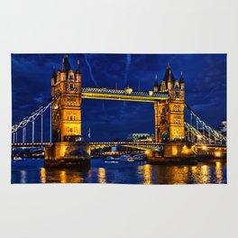 Tower Bridge , London, England, UK Rug