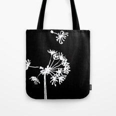 Dandelion 2 Drawing Tote Bag