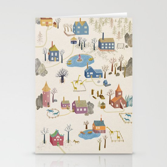 Little Village Stationery Cards