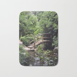 Garden Bridge Bath Mat