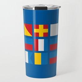 NAUTICAL FOR PETE'S SAKE Travel Mug