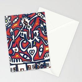 Society Breakdown Stationery Cards