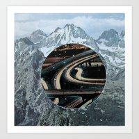 secret highway Art Print