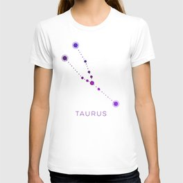 TAURUS STAR CONSTELLATION ZODIAC SIGN T-shirt