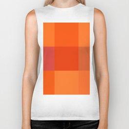 Orange palette Biker Tank