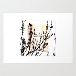 Zwitschereien Art Print