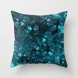 Ocean Dollars Throw Pillow