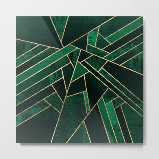Emerald Night Metal Print