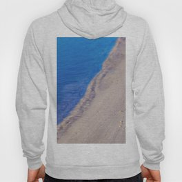 Water and Sand Abstract Hoody