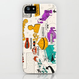 Wonders of Life Placemat iPhone Case