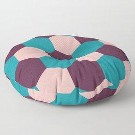 Honeycomb Pattern Floor Pillow