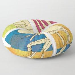 Take a Seat Floor Pillow