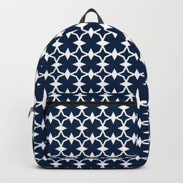 Blue + White | No. 1 Backpack