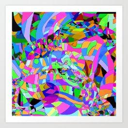 Bazaar Art Print