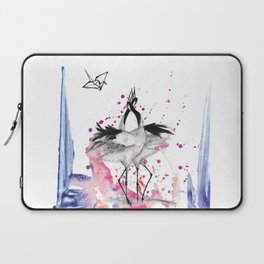 Crane dance Laptop Sleeve