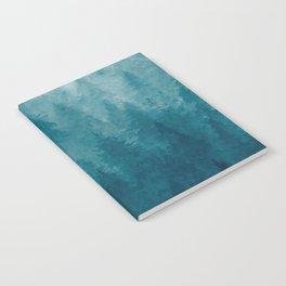 Misty Pine Forest Notebook