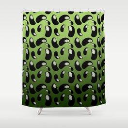 Swamp Monster Shower Curtain