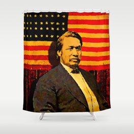 Ely Samuel Parker Shower Curtain