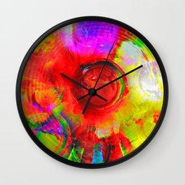 Fun Colors Wall Clock